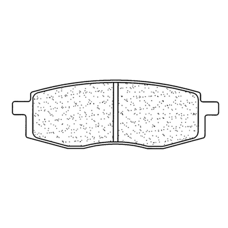 Plaquettes de frein CL BRAKES Off-Road métal fritté - 2792MX10