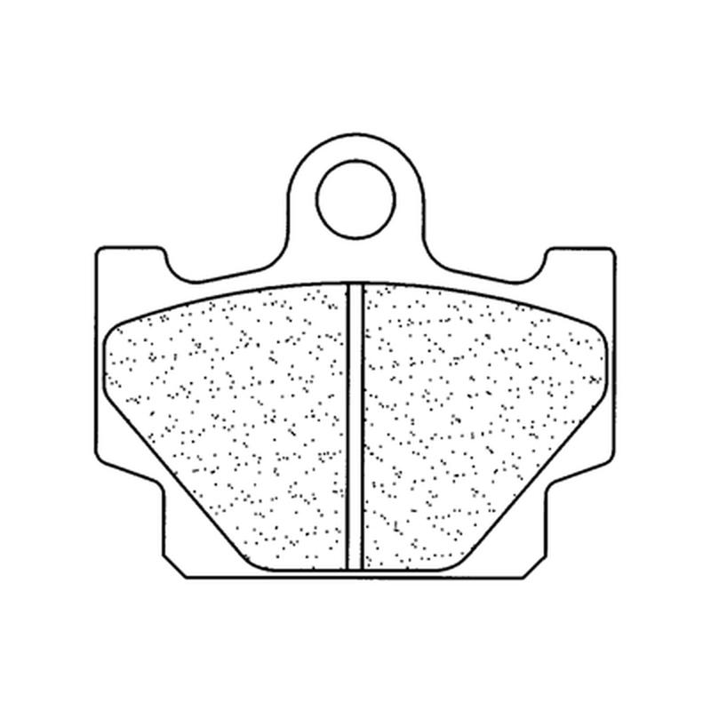 Plaquettes de frein CL BRAKES route métal fritté - 2802A3+