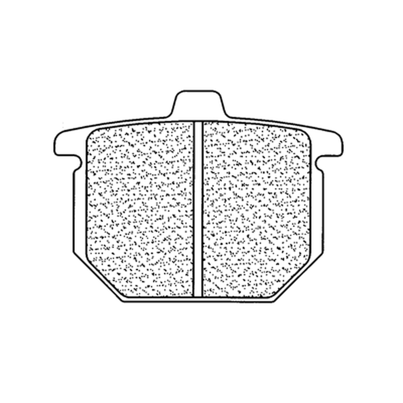 Plaquettes de frein CL BRAKES route métal fritté - 2814A3+