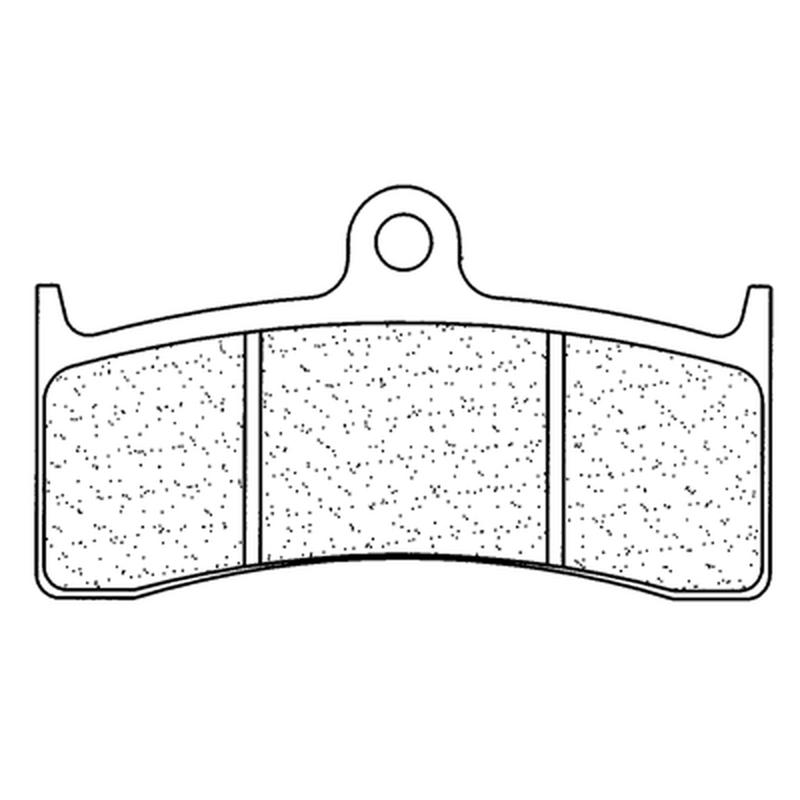 Plaquettes de frein CL BRAKES route métal fritté - 2899XBK5