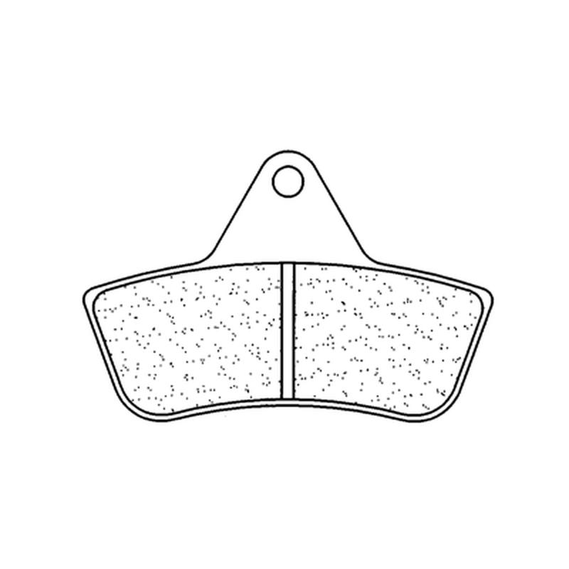 Plaquettes de frein CL BRAKES Quad métal fritté - 2926ATV1