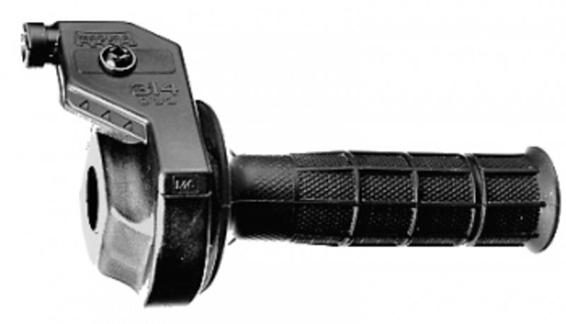 Poignée de gaz MAGURA + revêtements gauche et droit noir MX/Enduro 2T