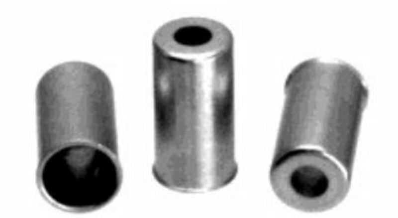 Embouts de gaine ᴓ6.8 ALGI - Ø6,8 12mm par 25