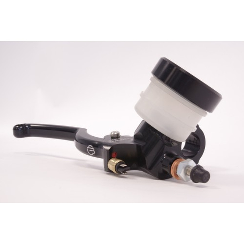 Maître-cylindre de frein axial BERINGER Classic Racing Ø20,5mm bocal vissé noir (levier type A - 16cm noir)