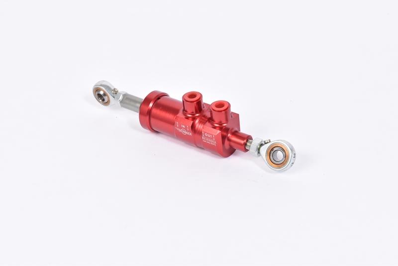 Maître-cylindre de frein arrière BERINGER Ø23,8 rouge