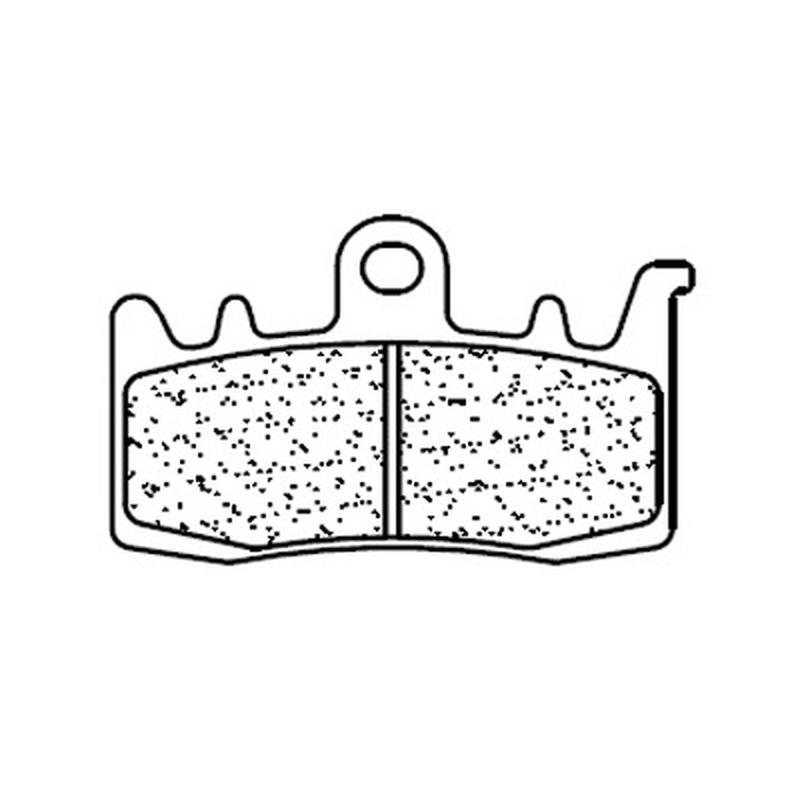Plaquettes de frein CL BRAKES Racing métal fritté - 1232C60