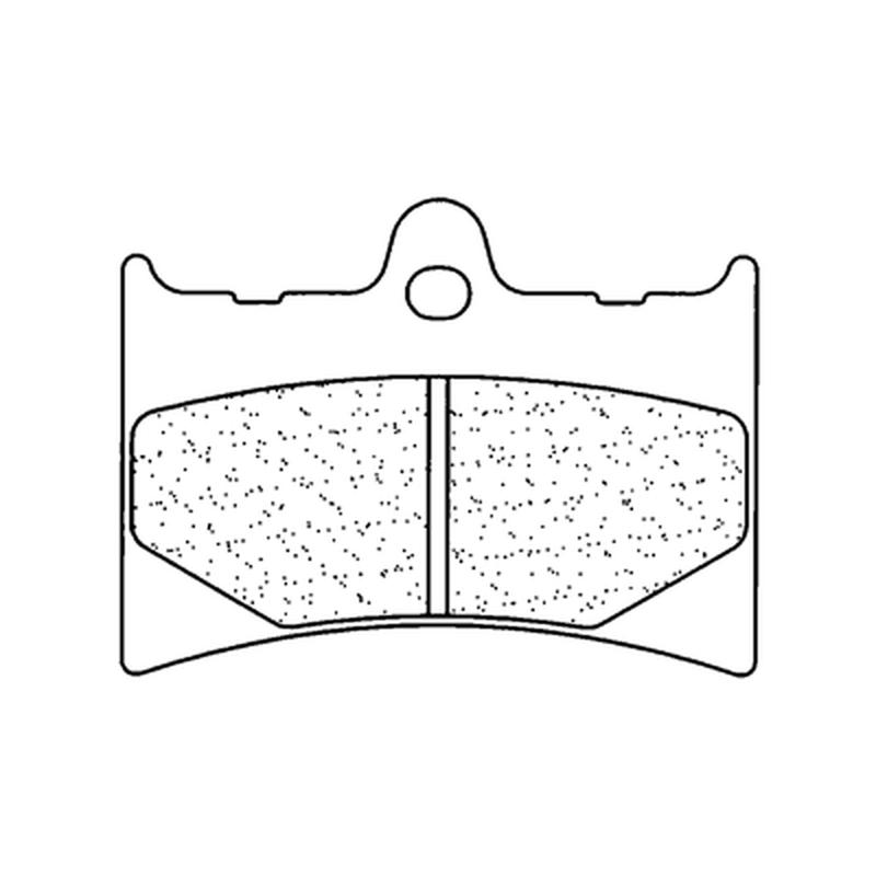 Plaquettes de frein CL BRAKES Off-Road métal fritté - 2398X59
