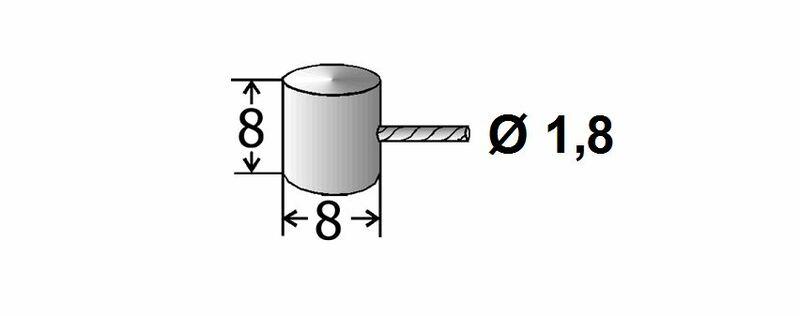 Cables de frein adaptables TRANSFIL - 1,20m