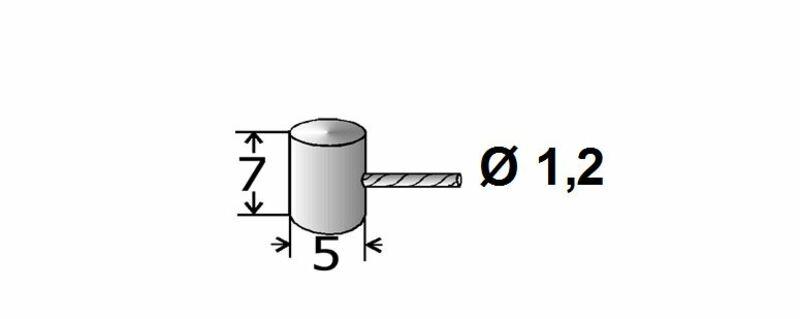 Cables de gaz adaptables TRANSFIL - 1.20m spécifiques Peugeot par 25