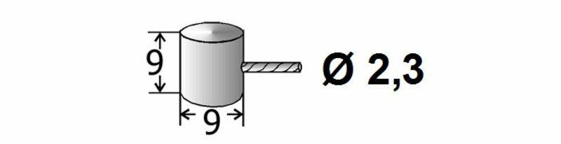 Cables de frein et d'embrayage adaptables TRANSFIL - 2.50m