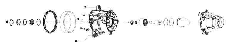 Kit réparation de turbine WSM Sea-doo SPARK