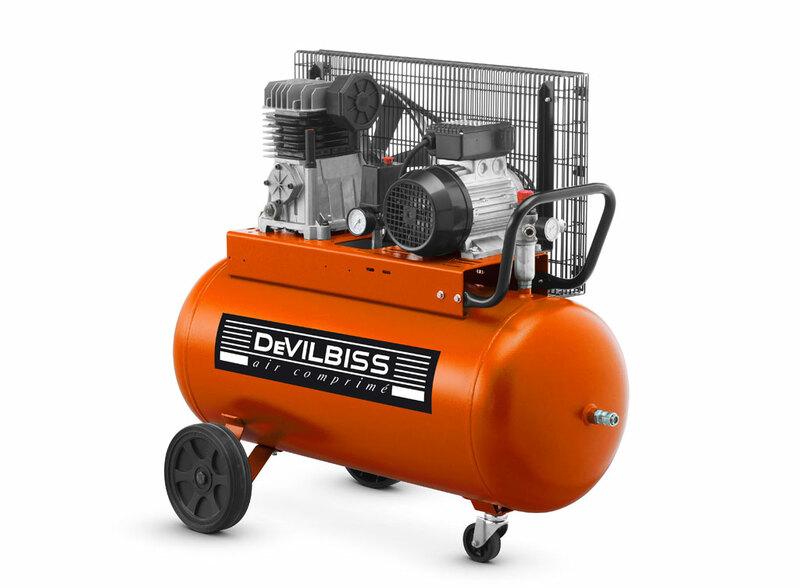 Compresseur DEVILBISS 3CV / 90L