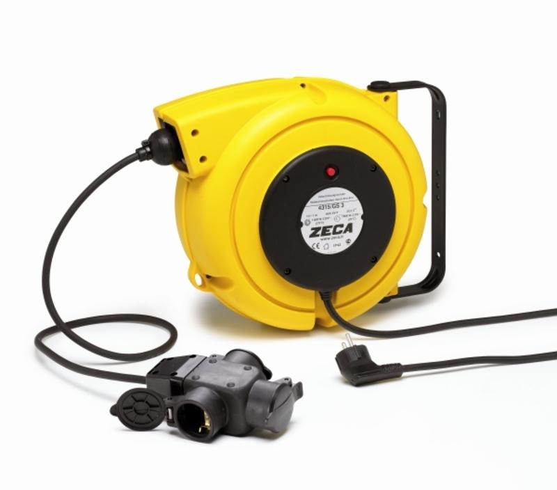 Enrouleur électrique ZECA automatique 15m