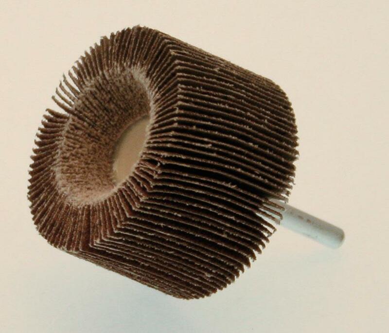 Roue à lamelle PTS OUTILLAGE sur tige grain 60 Ø60X40mm