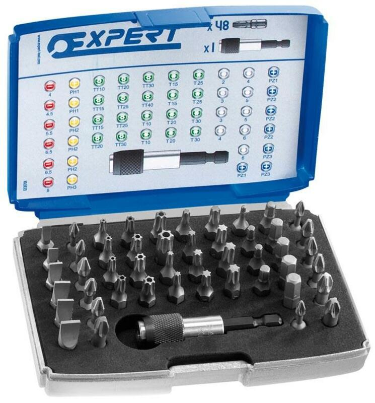 Coffret EXPERT 48 embouts 1/4''