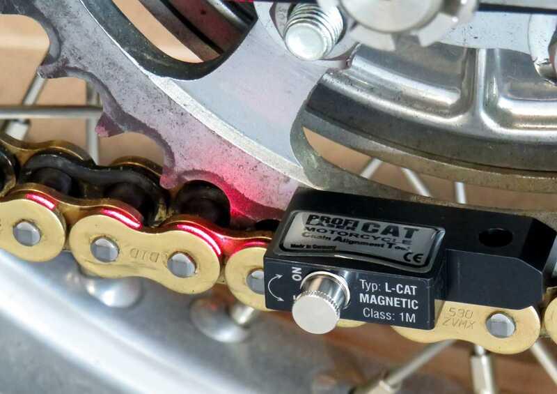 Boîtier d'alignement chaîne laser PROFI PRODUCTS 12mm version faisceau laser
