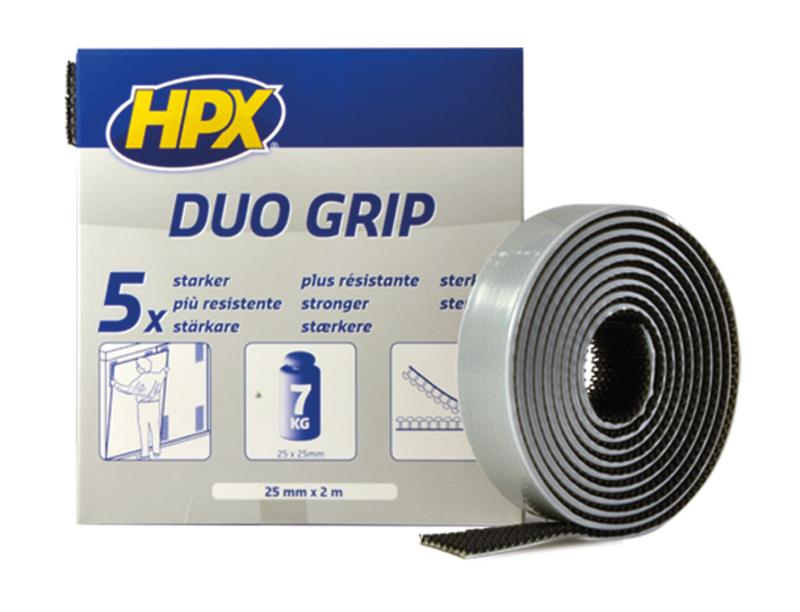 Duo Grip HPX noir 25mm x 2m