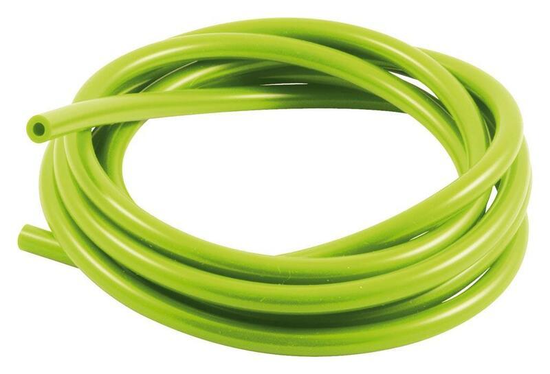 Durite de mise à l'air SAMCO pour carburateur silicone vert 3m - Øint. 3mm/Øext. 7mm