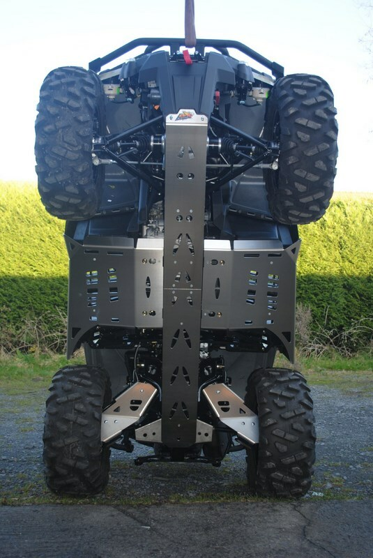 Sabot central AXP - aluminium 6mm Can-Am Outlander 1000