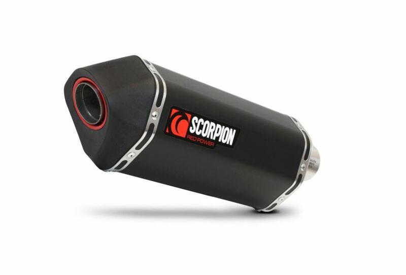 Ligne complète SCORPION Serket Slip on Céramique noir - Piaggio MP3 400