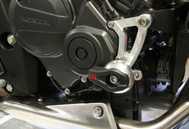 Kit fixation Crash Pad LSL Honda 600 Hornet