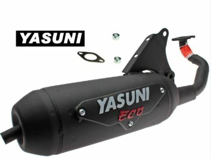 Ligne complète YASUNI Eco Acier noir