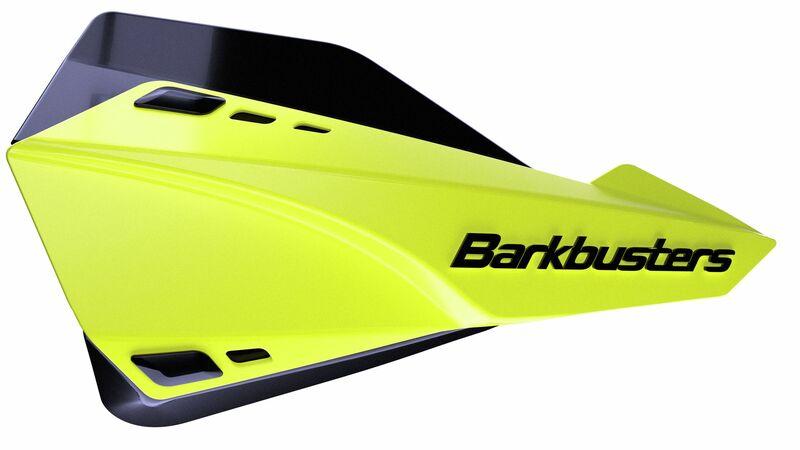 Kit protège-mains BARKBUSTERS Sabre montage universel jaune HiViz/déflecteur noir