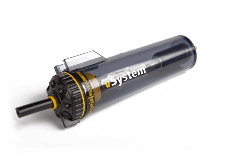 Réservoir à valve calibrée SCOTTOILER Vsystem
