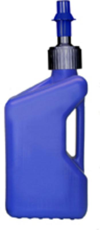 Bidon d'essence TUFF JUG 10L bleu translucide/bouchon bleu