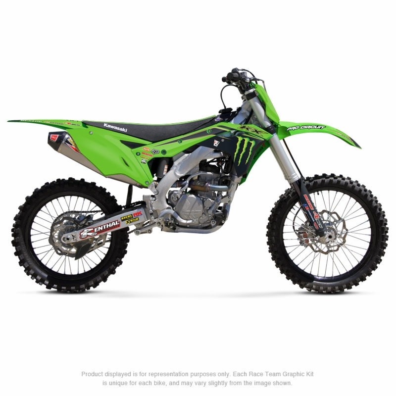 Kit déco PRO CIRCUIT Team Monster Energy 2020 Kawasaki KX250