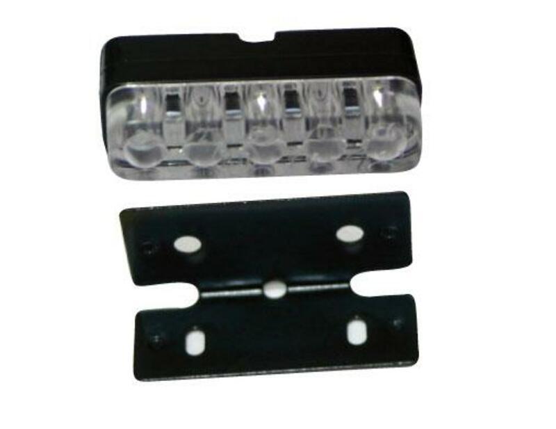 Éclairage LED de plaque d'immatriculation V PARTS