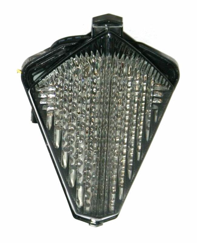 Feu arrière avec clignotants intégrés V PARTS LED Yamaha