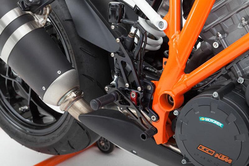 Commandes reculées multi -position LSL KTM 1290 Super Duke R