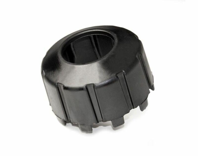Adaptateur de bouchon RACETECH bidon d'essence Quick Fill noir