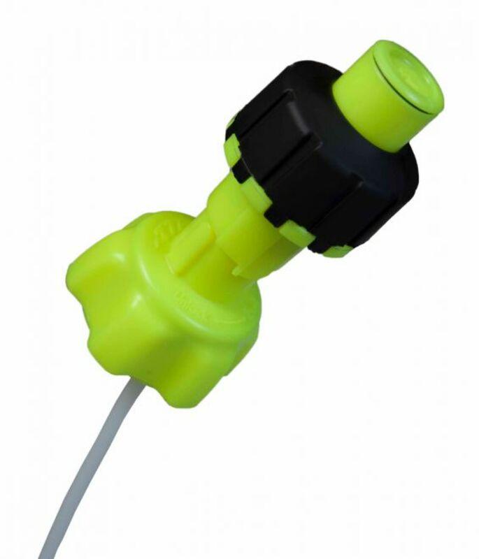 Kit accessoires bidon d'essence RACETECH remplissage rapide jaune