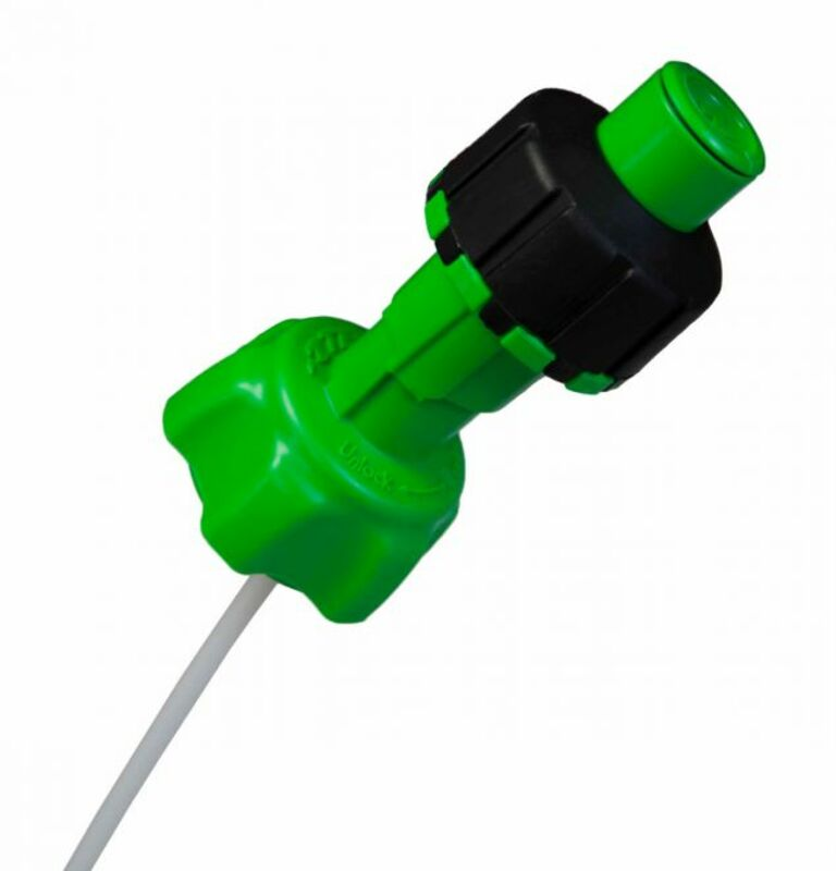 Kit accessoires bidon d'essence RACETECH remplissage rapide vert