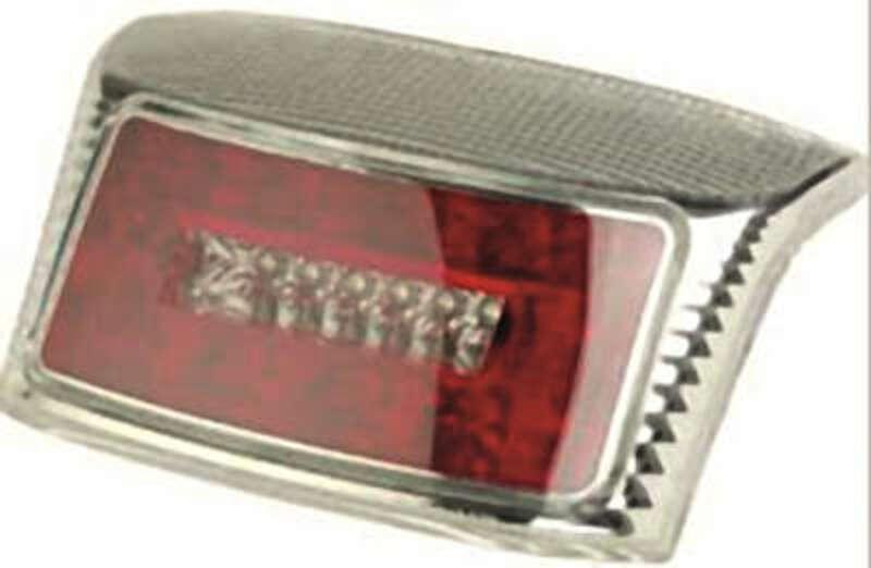 Feu arrière V PARTS LED type R8 chromé MBK/Yamaha