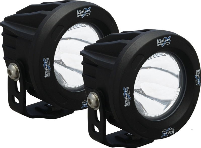 Kit 2 lampes Optimus rond Vision-X