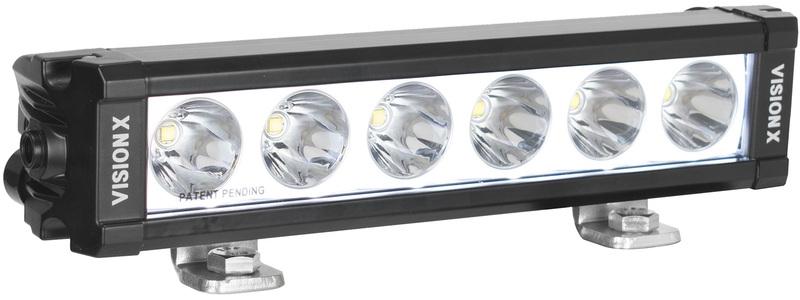 Rampe de LED VISION-X XPL 6 Leds 3220 Lumens avec rétroéclairage 24cm