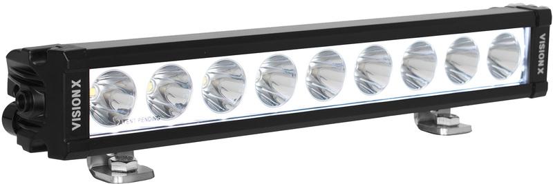 Rampe de LED VISION-X XPL 9 Leds 4820 Lumens avec rétroéclairage 34cm