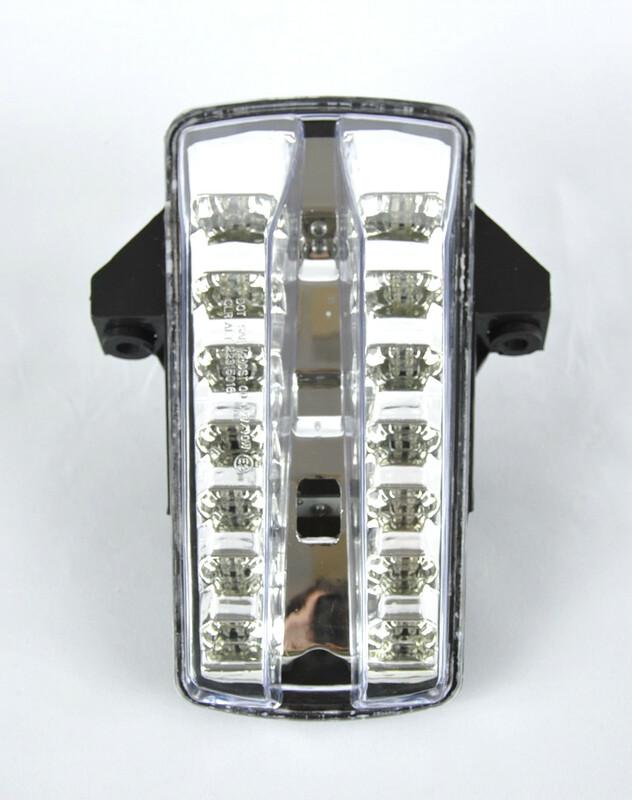 Feu arrière BIHR LED avec clignotants intégrés Suzuki SV650/SV1000