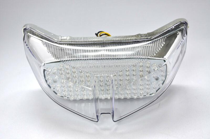 Feu arrière BIHR LED avec clignotants intégrés Yamaha FZ1