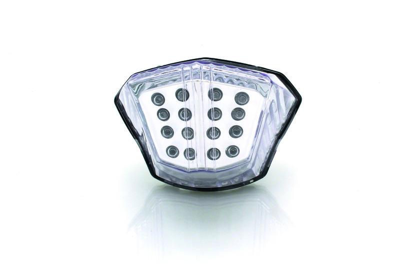 Feu arrière BIHR LED clignotants intégrés Yamaha XJ6