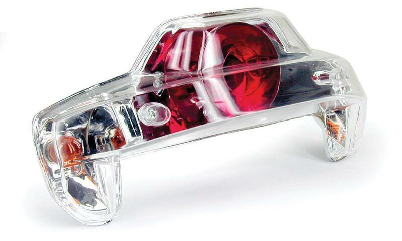 Feu arrière avec clignotants intégrés V PARTS type Lexus Yamaha/MBK