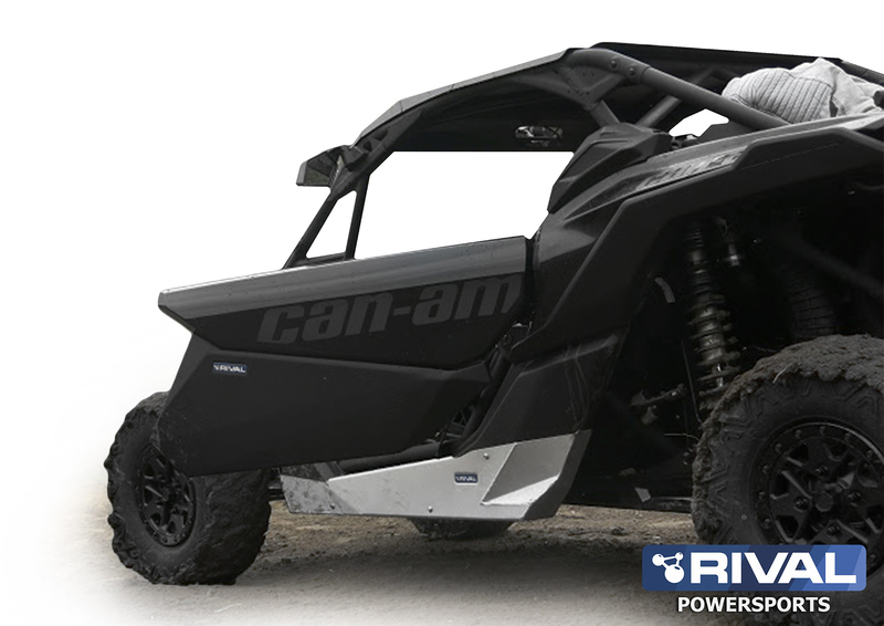 Bas de portes RIVAL - aluminium Can-Am Maverick X3