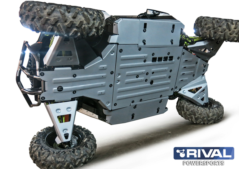 Kit sabot complet RIVAL - aluminium Can-Am Maverick