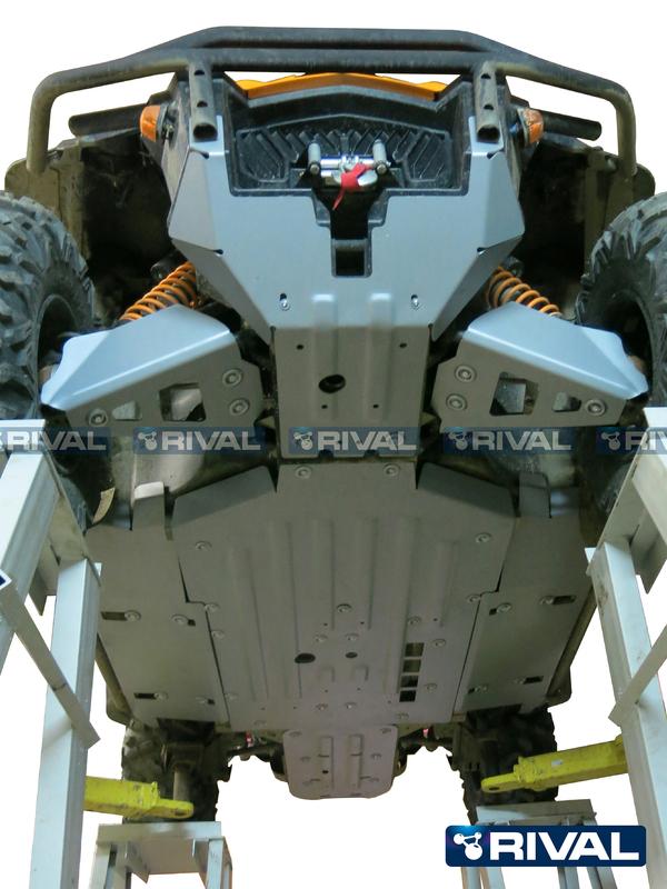 Kit sabot complet RIVAL - aluminium Can-Am Commander