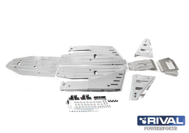 Kit sabot complet RIVAL - aluminium Polaris RZR 1000 XP/Turbo