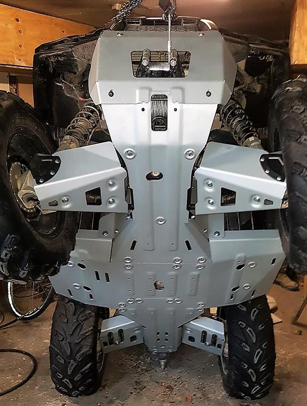 Kit sabot complet RIVAL - aluminium Polaris Sportsman 450/570