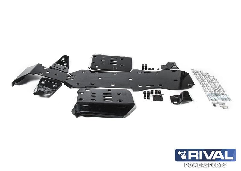 Kit sabot complet RIVAL - aluminium CF Moto CForce 850